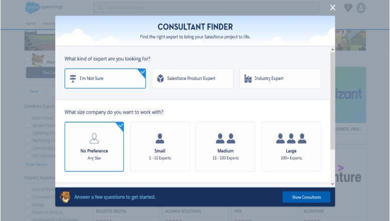 consultant finder