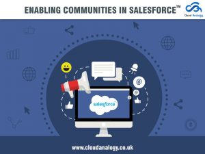 Enabling Communities in Salesforce