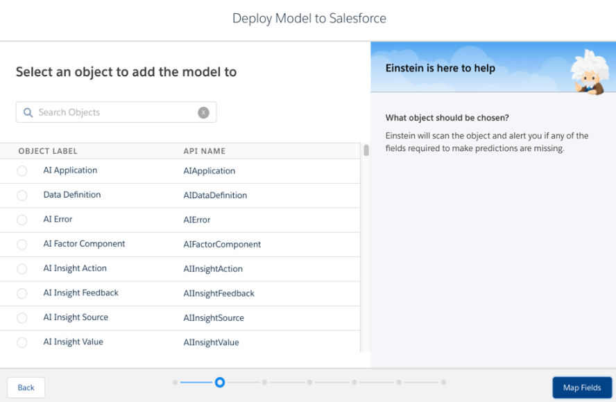 Deploying A Model To A Salesforce
